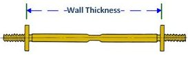 Form Tie C Wall Thickness